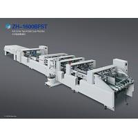 Quality Paper Sheet Carton Packing Machine 4 / 6 Corner Touch Screen Operation for sale