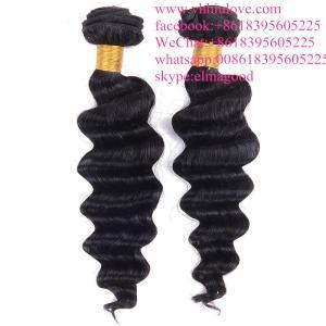 China Grade 7a Virgin Peruvian Loose Wave Hair Weaving on sale