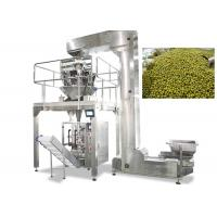 Quality Stainless Steel Granule Packing Machine With Multi Head Weigher CE Certification for sale