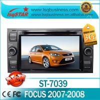 Quality Ford DVD GPS Radio RDS 3G WIFI Ford Focus GPS DVD Player for sale