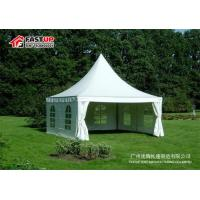 Quality High Peak Pagoda Car Show Tent , Outdoor Gazebo Shade Tent Anti - Rust for sale