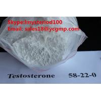 Quality Pharmaceutical Bodybuilding Male Enhancement Steroids Raw Testosterone Powders CAS 58-22-0 for sale