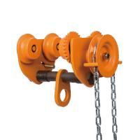 10 ton Chain Fall Trolley Hand Plain Trolley With Chain for Hoist travelling for sale