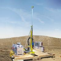 Quality ISO9001 Certification Portable Core Drill Rig with 21MPa/max  54L/min Water cooler for sale