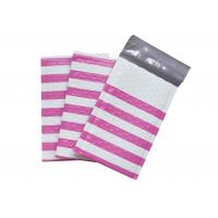 China Pink Strip Poly Bubble Mailers , Customized Decorative Poly Mailing Bags on sale