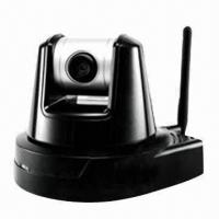 Quality PT Type MJPEG Wired/Wireless Camera with CMOS Sensor and MJPEG Video Compression for sale