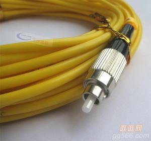 FC-FC Simplex Fiber Patch Cord For FTTH , CATV, LAN , MAN , WAN