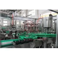 Quality PLC Control Electric Driven Glass Bottle Filling Machine With Highly Speed for sale