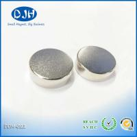 Buy cheap Small Round Zinc Coated N38 Neodymium Permanent Magnets Extra Strong Power For Bag from wholesalers