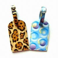 Quality Personal Decoration Luggage Tags with Nominal Quotation, Made of Plastic for sale