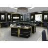 Buy cheap Jewelry Showcase Manufacturers - Custom Made Mirror Black Glass Jewelry Showcase from wholesalers