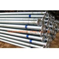 Quality Zinc Coated Galvanized Steel Pipe For Air Vapor , 400mm 300mm GB/T3091 for sale