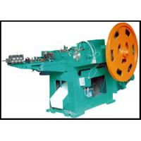 Quality High Productivity steel Nail Making Machine with Low Noise , 1.5-10 KW Motor Power for sale