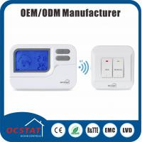 China Programmable Heat Pump RF  Thermostat  5 - 2 Day Programmable Thermostat RF868MHZ radio frequency wireless RF thermostat on sale