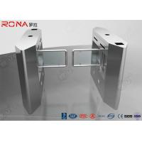 Quality Security Access Control Swing Barrier Gate System With Rfid Identification for sale
