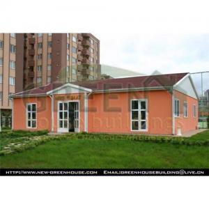 China Low Cost Prefab Villa Oranger on sale