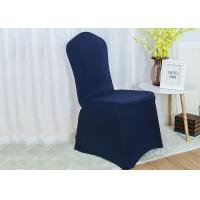 Quality Comfortable Universal Chair Covers , Folding Chair Slipcover Shigh Density Seaming for sale