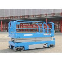 Ten Meters Mobile Scissor Lift Drive Speed Interlock Limits With Hydraulic System