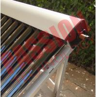 Quality High Absorption Heat Pipe Collector , Solar Hot Water Collector Pitched Roof Installation for sale
