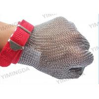 Quality Cutting Room Safety Protective Gloves / Stainless Steel Mesh Safety Gloves for sale