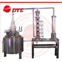 Quality 150L Wine Commercial Distilling Equipment , Steam Distillation Apparatus for sale
