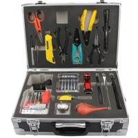 Quality Compact Field Fusion Fiber Optic Splicing Tool Kit With 3.5M Tape Measure for sale