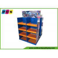 Quality Multi Sided Corrugated Pallet Display Shelves , Product Display Stands For RC Toys PA017 for sale