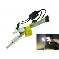 Quality 30W 3200LM Motorcycle LED Headlight Conversion Kit , H13 LED Headlight Bulbs For Motorcycles for sale