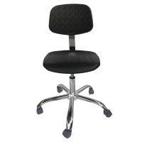 Quality PU Foam Cleanroom Antistatic ESD Office Chair 440*440mm for sale