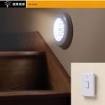 Energy Saving Bedroom Battery Powered Remote Control LED Lights With Light Sensor
