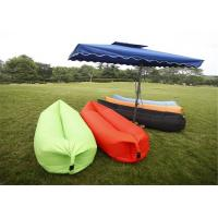 China Fast Inflatable Camping Sofa Air Sleep Bag Lamzac Hangout Air Camping Sofa Portable Beach Nylon Sleeping Bed Lazy Bag on sale