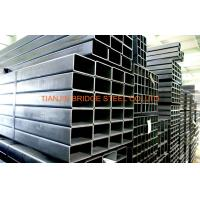 Quality 16Mn STK500 STK400 Steel Square Tube , ERW Steel Pipe For Building Bridge Roof for sale
