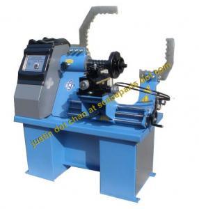 Quality SR1000 Full Automatic Rim Straightening Machine / Rim Repair Machine With Polishing & Lathe System for sale