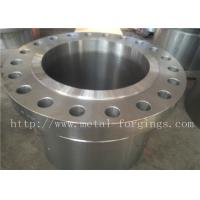 Quality ASME B16.5 Standard WN BL RF Carbon Steel  and Stainless Steel Flange Finish Maching for sale