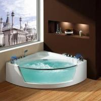 Quality 110/220V Pure Acrylic Whirlpool/Jacuzzi/Massage Bathtub/Luxury Bath with Hot/Water Switches for sale