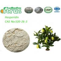 Buy cheap Citrus Extract Hesperidin Powder 85.0%-97.0% By HPLC For Pharmaceutical from wholesalers