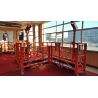 Quality Aluminium Alloy Electric Suspended Access Platform Equipment for Building Site for sale