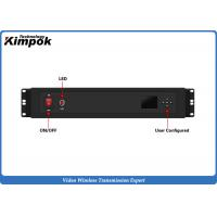 Buy 50-100km NLOS COFDM Video Transmitter Vehicle Mounted Boat - Command Center Transmission at wholesale prices
