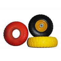"Quality Low Temperature Resistance 7.5x2"" PU Foam Wheels For Wheelchair for sale"