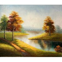 Quality landscape painting tree painting decoration wall art for sale