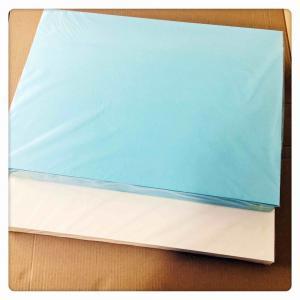 Quality Blue Inkjet Water Transfer Paper 400 * 600mm Good Slip For Nails Art / Organic for sale