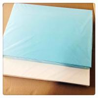 Buy cheap Blue Decal Transfer Paper 400 * 600mm Good Slip For Nails Art / Organic from wholesalers