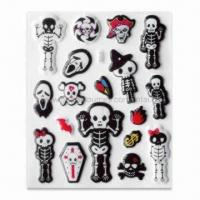 Quality 3-D Puffy Scrapbooking Stickers in Pirate Shape, Easy to Stick for sale
