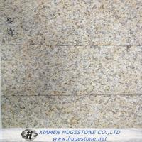 Quality Rusty Yellow G682 Bush Hammered, China Yellow Granite G682 Slabs for sale