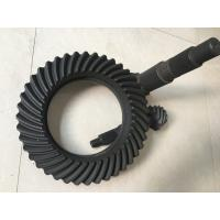 Quality Hypoid Spiral crown bevel gears , High Precision Forging ring gear and pinion gear for sale