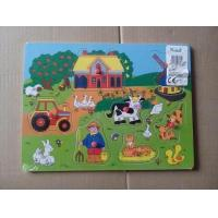 China Wooden toy puzzles, jigsaw, intellectual children toys on sale