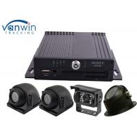 Quality Economical SD Card Mobile DVR VGA AHD 720P vehicle dvr gps 3g mdvr blackbox for sale