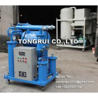 Quality ZJB Single-stage Cable Oil Filtration, Dielectric Oil Filter Plant for sale
