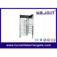 Buy Exhibition Stainless Steel Access Control Turnstile Gate Standard RS485 at wholesale prices