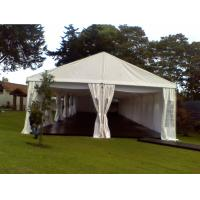 Quality 300 People Strong Wedding Tent White Roof Linings Party Marquee Tent for sale